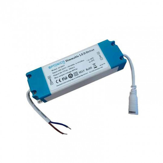 Driver Dimmable AC180-265V 60-75 Vdc 300mA