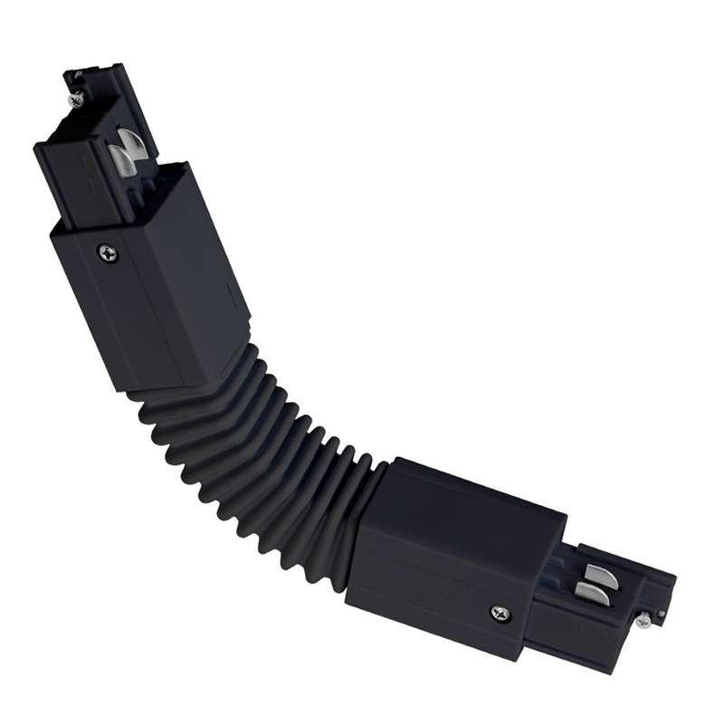 Connecteur angle flexible rail - 4 wires Triphasé