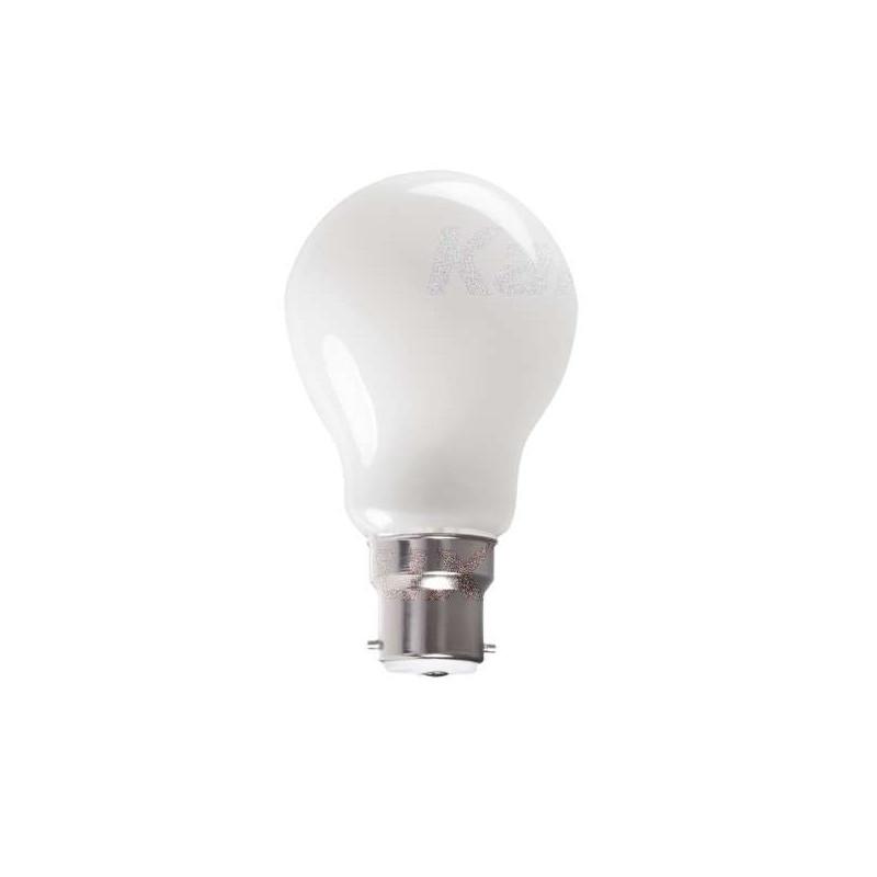 Ampoule LED B22 8W A60 équivalent à...