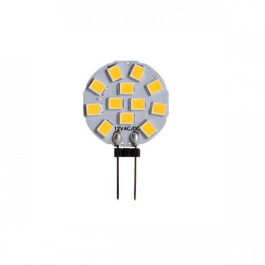 Ampoule LED G4 1,2W JC équivalent à 9,6W - Blanc Naturel 4000K