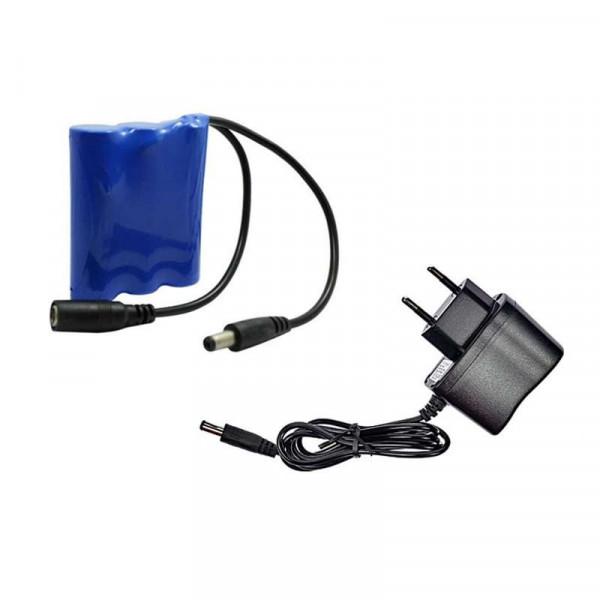 Mini Batterie Rechargeable DC12V - 2000mAh avec chargeur