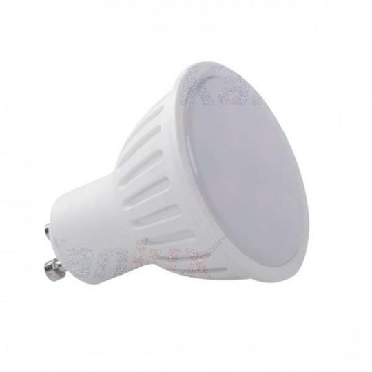 Spot LED GU10 4W PAR16 équivalent à 28W - Blanc Chaud 3000K