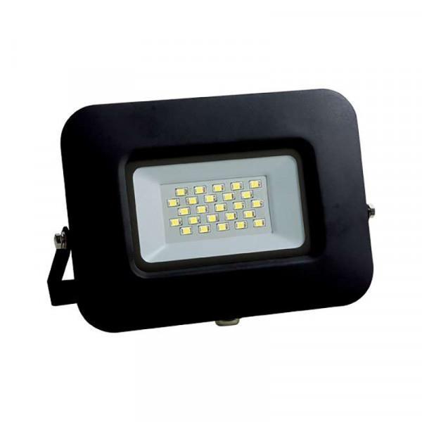 Projecteur LED 10W (60W) Noir Premium Line IP65 850 lumens Optonica
