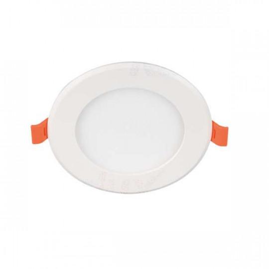 Downlight LED 6W rond ∅121 Blanc - Blanc Naturel 4000K