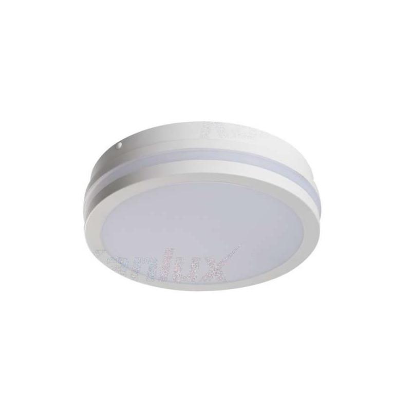 Plafonnier LED 18W étanche IP54 rond...