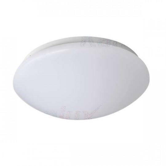 Plafonnier LED 12W étanche IP44 rond ∅260mm Blanc - Blanc Naturel 4000K