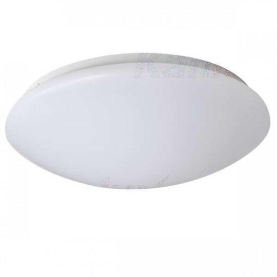 Plafonnier LED 24W étanche IP44 rond ∅380mm Blanc - Blanc Naturel 4000K