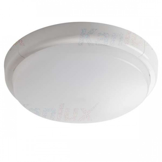 Plafonnier LED 24W rond ∅300mm Blanc - Blanc Naturel 4000K