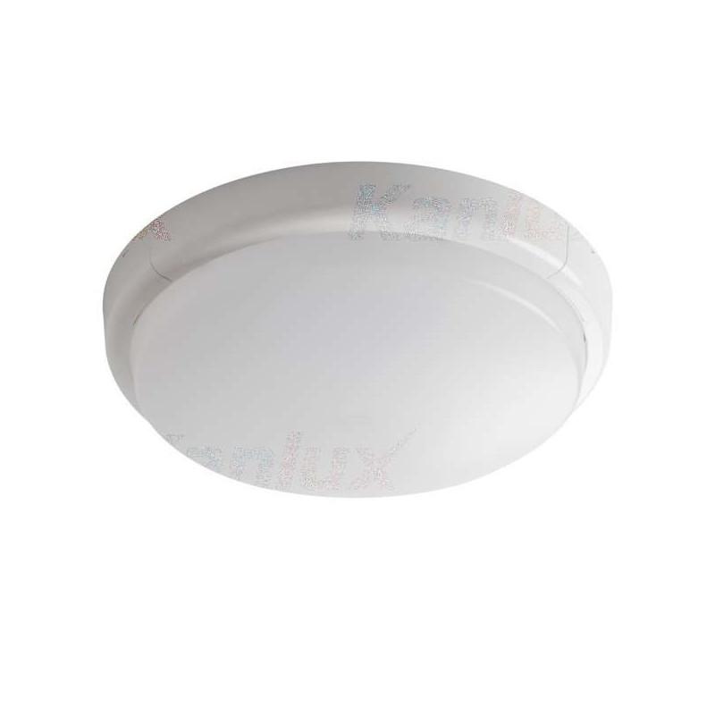 Plafonnier LED 24W rond ∅300mm Blanc...