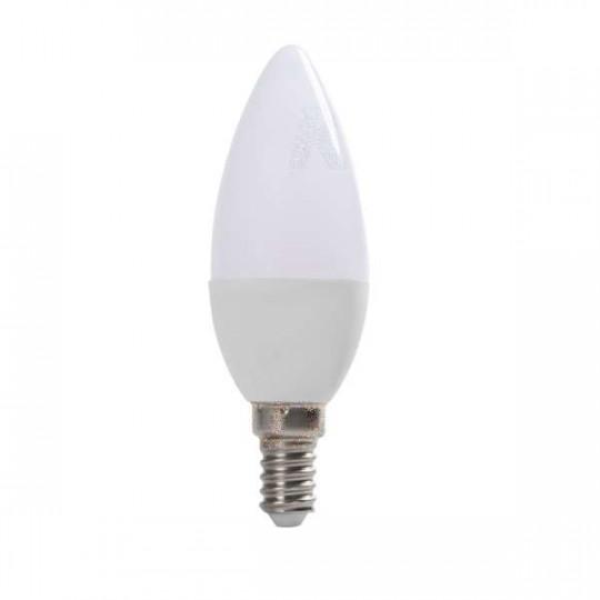 Ampoule LED E14 8W C37 équivalent à 48W - Blanc Chaud 3000K