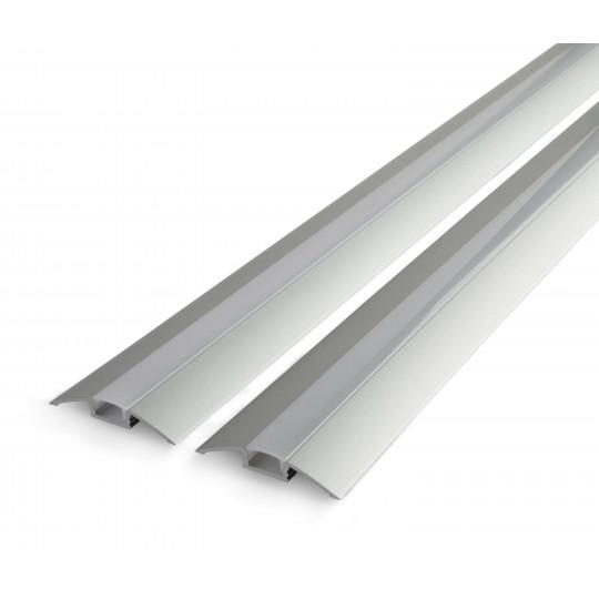 Profilé aluminium de sol ALU-FLAT