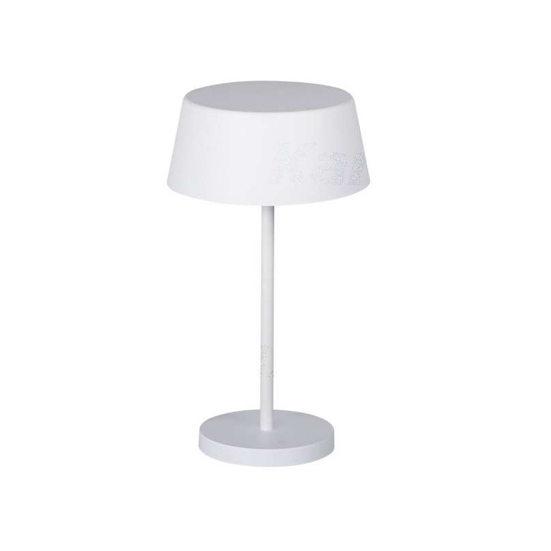 Lampe de table LED 7W Blanc - Blanc...