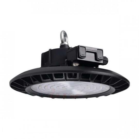 Cloche Highbay LED 150W étanche IP65 rond ∅330mm Noir - Blanc Naturel 4000K