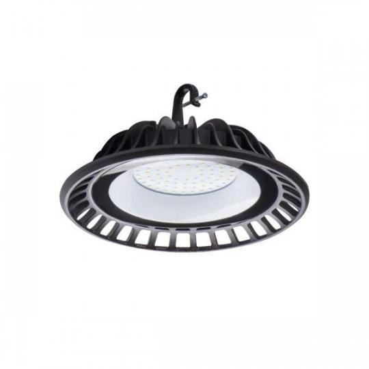 Cloche Highbay LED 50W étanche IP65 rond ∅240mm Noir - Blanc Naturel 4000K