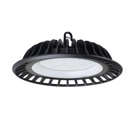 Cloche Highbay LED 150W étanche IP65 rond ∅350mm Noir - Blanc Naturel 4000K