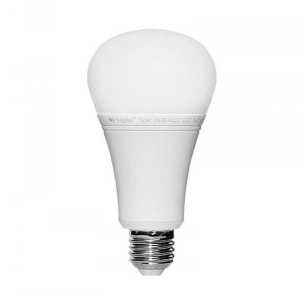 Ampoule LED E27 RGB +CCT 12W pilotable télécommande éclairage 100W