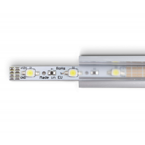 Profilé aluminium encastrable Série RSL15