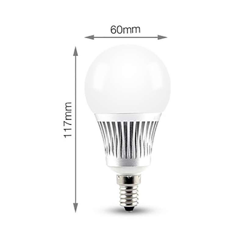 Ampoule LED E14 RGB +CCT 5W pilotable éclairage 40W