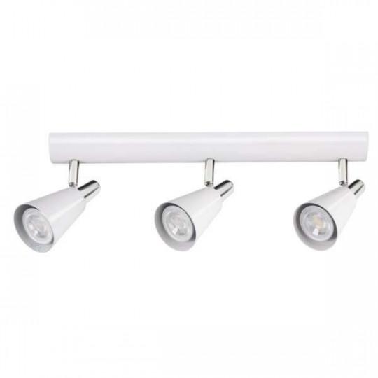 Applique Murale, saillie pour 3 ampoules GU10 - Blanc