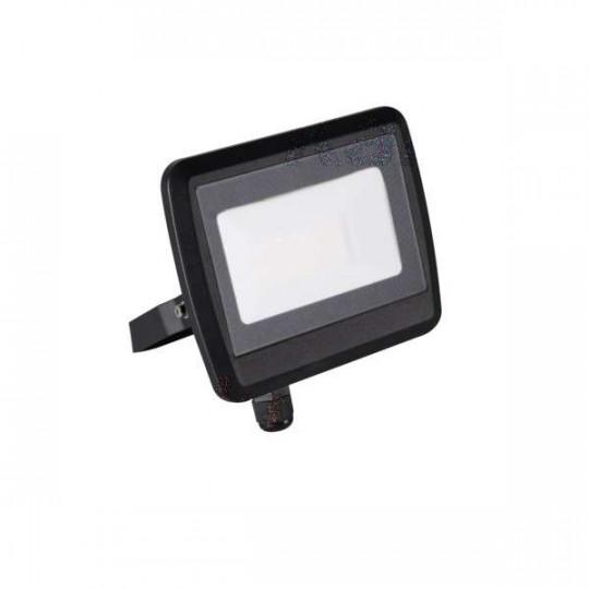 Projecteur LED 30W Noir étanche IP65 2400lm (240W) - Blanc Naturel 4000K