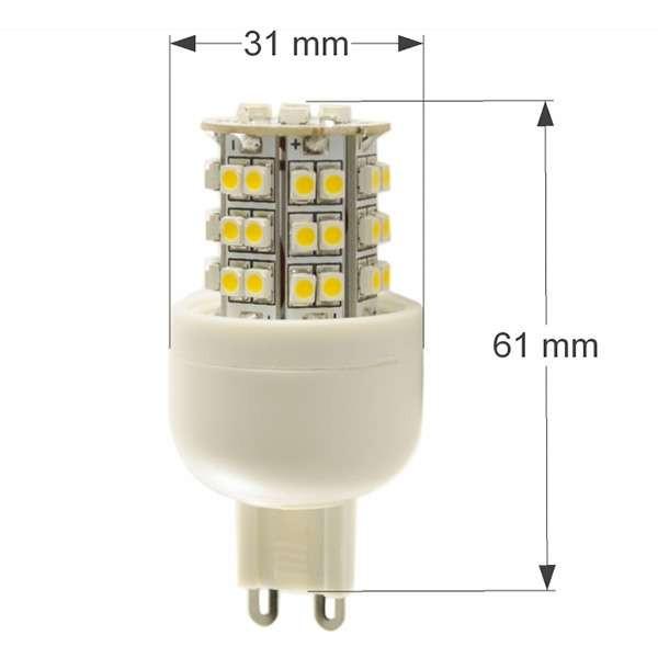 Ampoule LED G9 2W VTAC