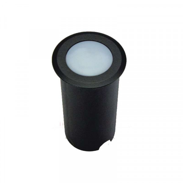 Petit spot LED 1W d50xh80mm IP67 Multicolore RGB