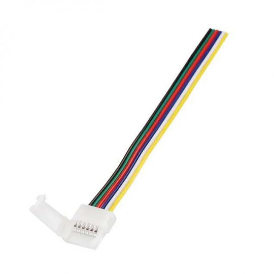 Câble connecteur pour ruban RGB+CCT 12mm