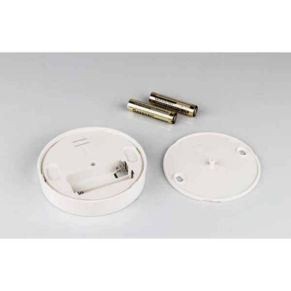 Contrôleur variateur sans fil tactile rond blanc