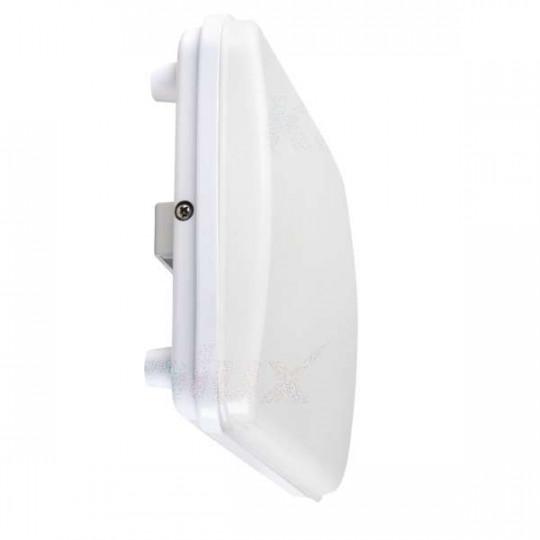 Plafonnier LED 5W étanche IP54 Rectangulaire 262mm x 166mm Blanc - Blanc Naturel 4000K