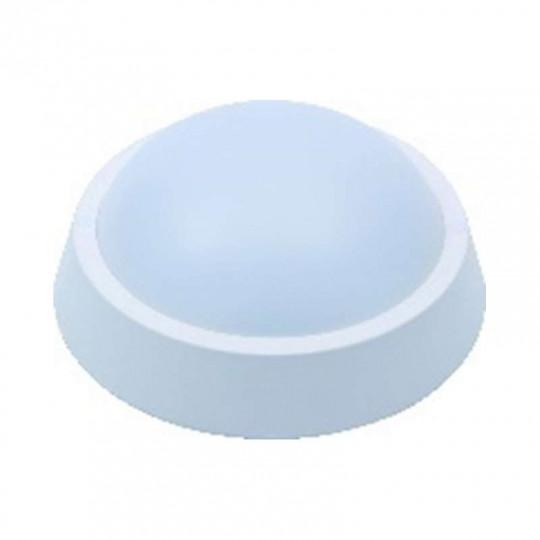 Applique LED de plafond 8W Rond à détecteur micro-onde IP65
