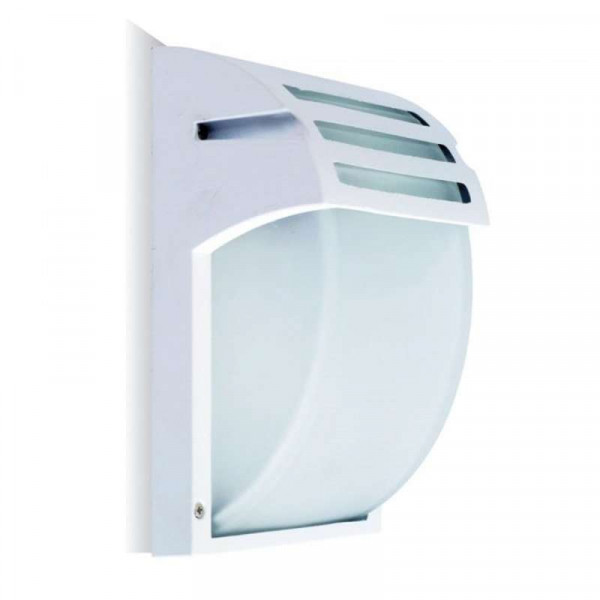 Applique E27 Aluminium Blanche