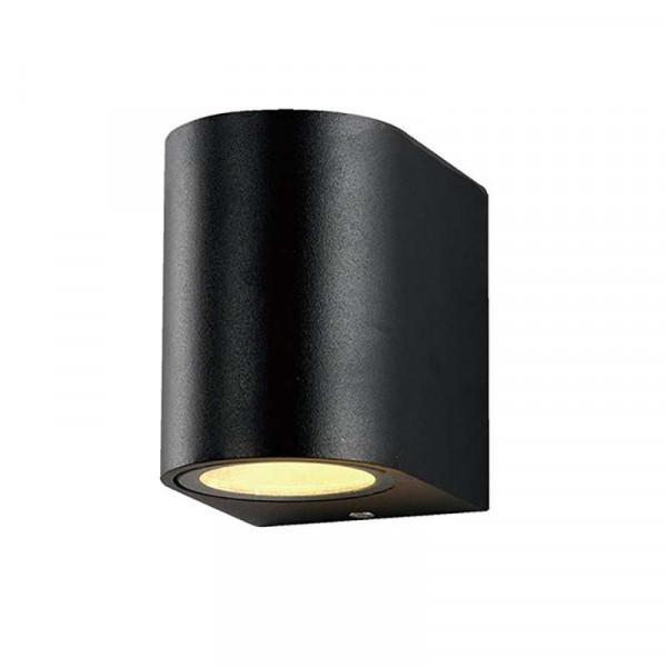 Applique Ronde Spot GU10 Aluminium Noir