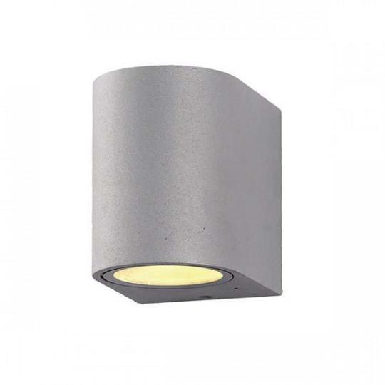 Applique Ronde Spot GU10 Aluminium Grise