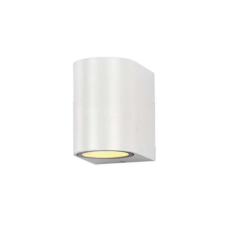 Applique Ronde Spot GU10 Aluminium Blanche