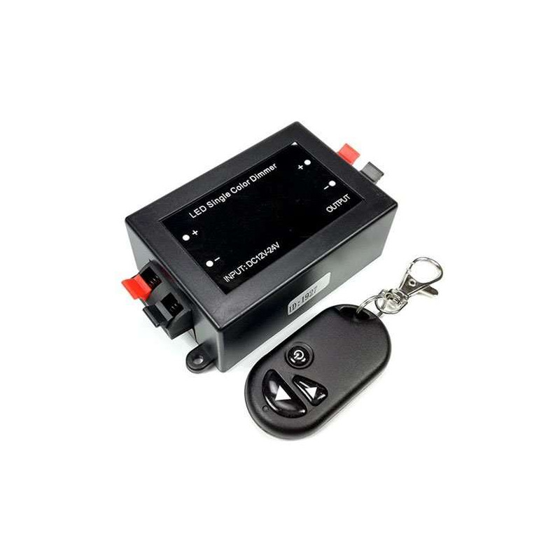 Variateur avec télécommande IR 12-24V 96-192 W