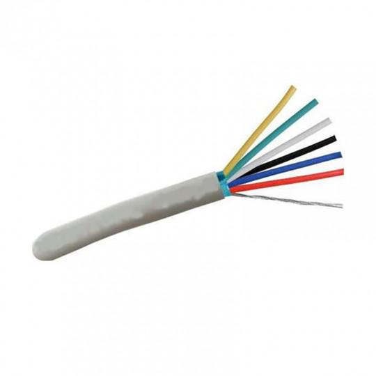 Câble pour ruban LED RBG+CCT (6 fils)