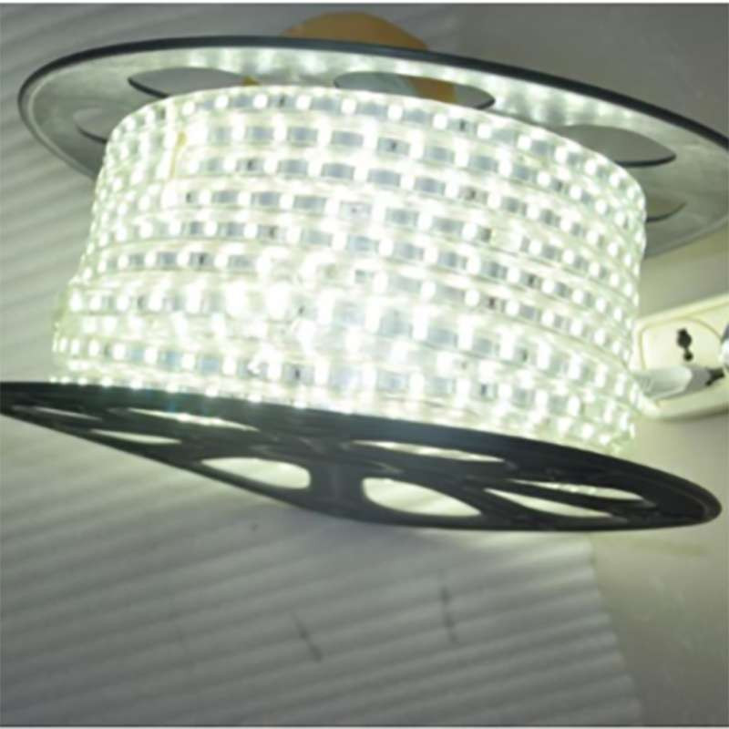 Ruban LED 220V étanche IP65 7W/m 60 LED/m