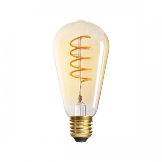 Ampoule LED E27 5W ST64 équivalent à 26W - Blanc Très Chaud 1800K