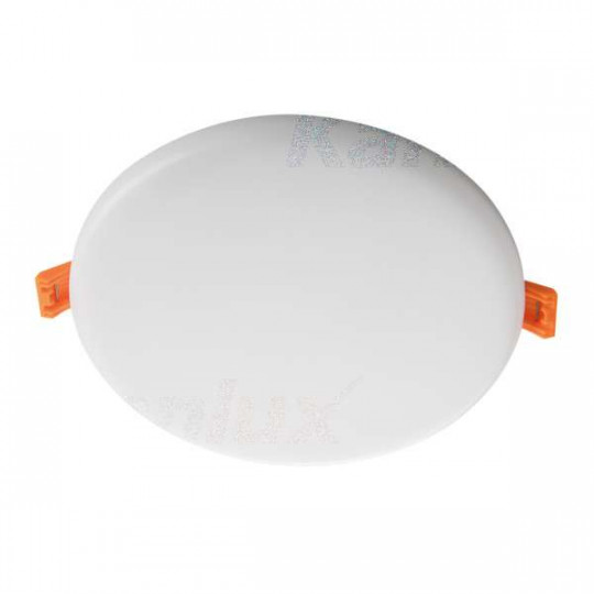 Downlight LED 14W rond ∅156mm Blanc - Blanc Chaud 3000K