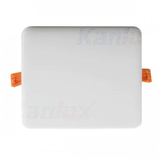 Downlight LED 14W carré Blanc - Blanc Chaud 3000K