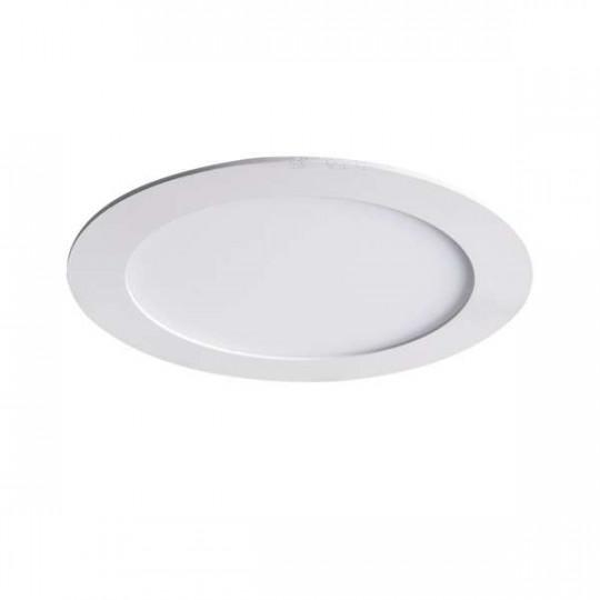 Downlight LED 18W étanche IP44 rond ∅220mm Blanc - Blanc Naturel 4000K