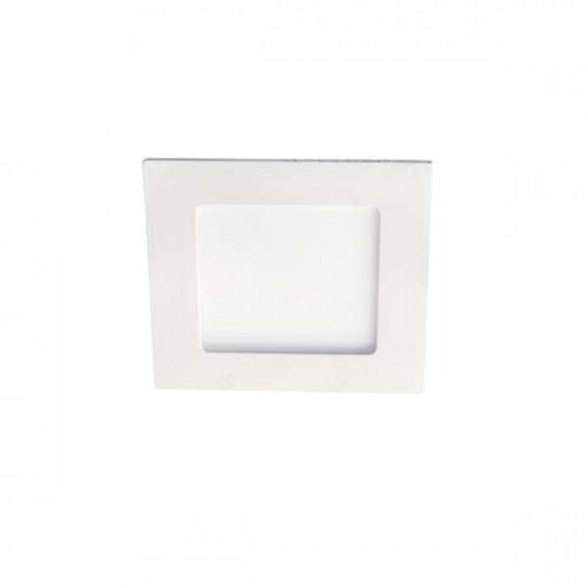 Downlight LED 6W étanche IP44 carré Blanc - Blanc Naturel 4000K