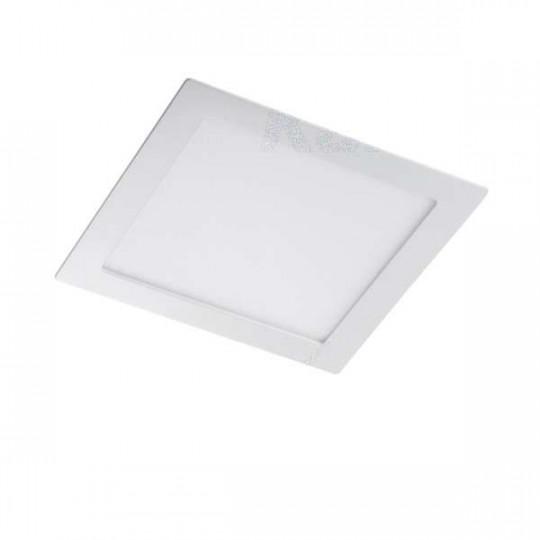 Downlight LED 6W étanche IP44 carré Blanc - Blanc Chaud 3000K