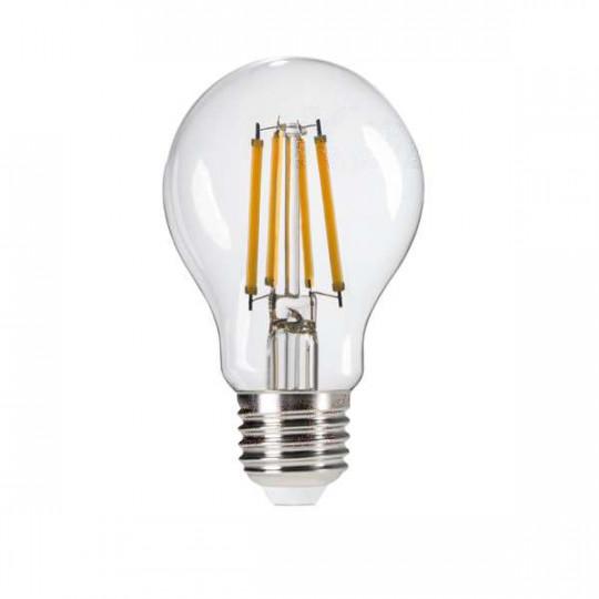 Ampoule LED E27 7W A60 équivalent à 60W - Blanc Chaud 2700K