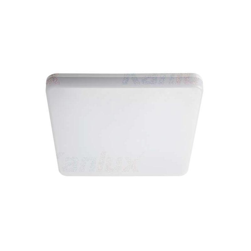 Plafonnier LED 24W étanche IP54 carré...