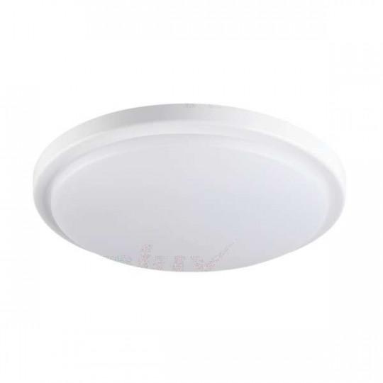 Plafonnier LED 18W étanche IP54 rond ∅250mm Blanc - Blanc Naturel 4000K
