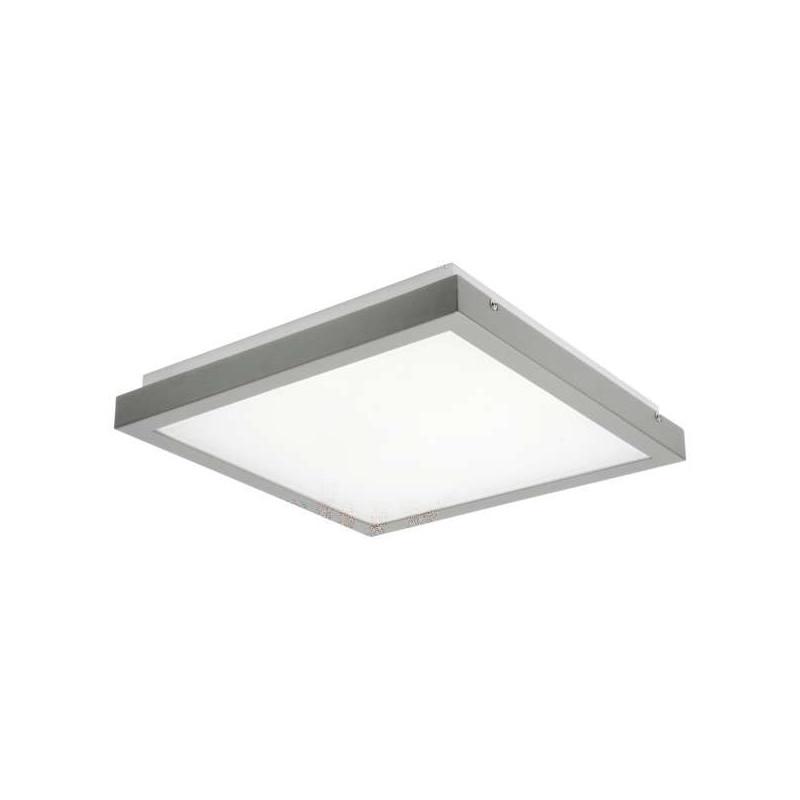 Plafonnier LED 38W carré côté 410mm...