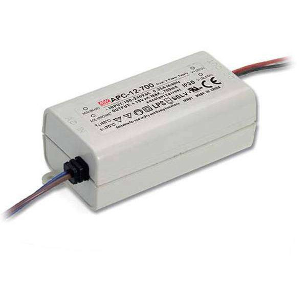 Driver électronique LED 700mA 9-18W MeanWell