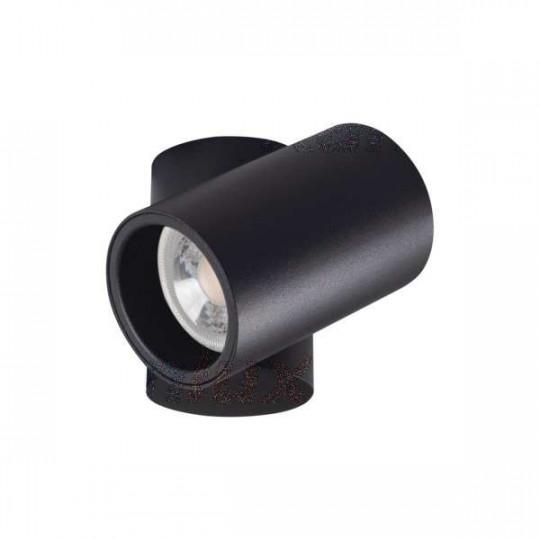 Plafonnier saillie pour 1 ampoule GU10 Noir