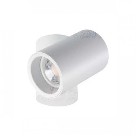 Plafonnier saillie pour 1 ampoule GU10 Blanc